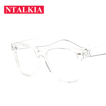 Crystal Clear Frame Transparent Lens Women's Acetate eyeglasses square eye glasses spectacle frame clear lens fake glasses frame