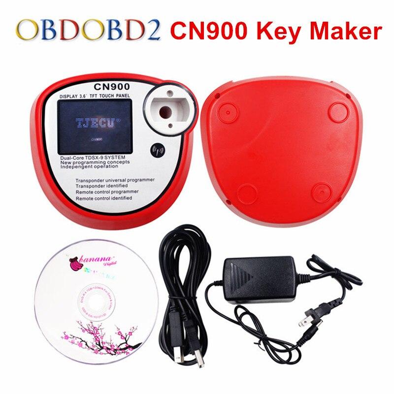 Newest OEM CN900 Auto Key Programmer CN 900 V2.02.3.38 Transponder Key Maker Can Read 4C 4D Key Chips 3 Years Warranty