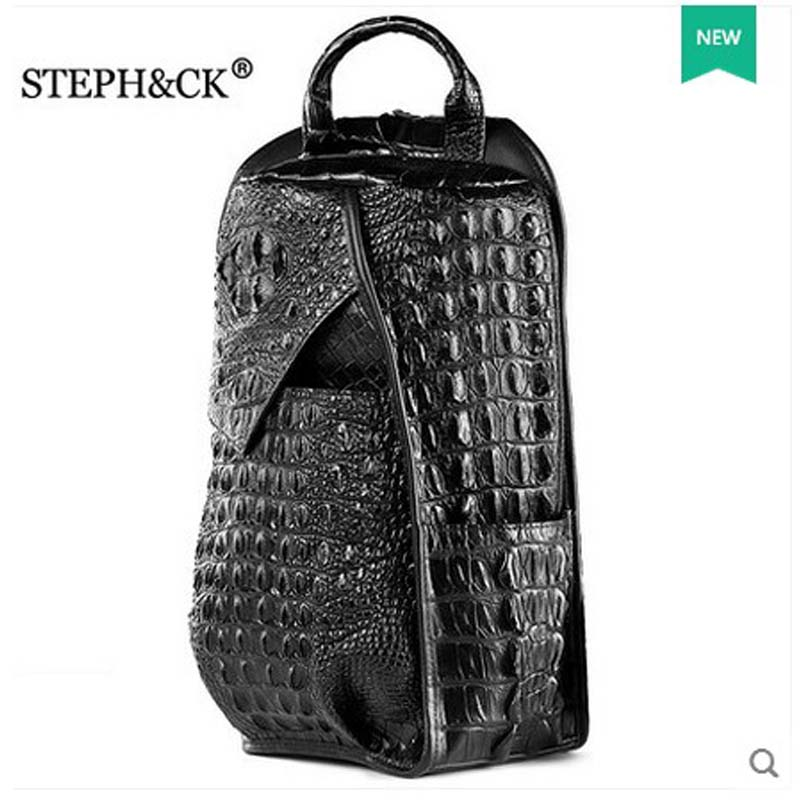 shidifenni crocodile Men's breast pack blue and middle-aged single shoulder slant cross-pack casual male bag crocodile chest bag alok kumar singh hari shankar shukla and hausila prasad pandey breast carcinoma