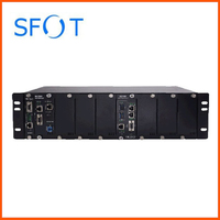 ZXA10 C320 OLT, SMXA/3 Card*2PCS with 2port 10G+2port 1G uplink, control,  DC power 2pcs GTGO board