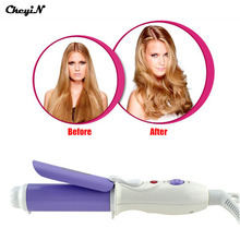 Portable Hair Styling Tools Mini Hair Curlers Pink Curling Tongs Iron Hair Roller Mini DIY Hairstyler Curl Beauty Machine HS001