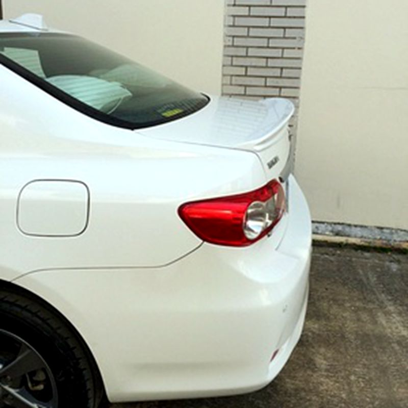 For <font><b>Toyota</b></font> <font><b>Corolla</b></font> <font><b>Spoiler</b></font> ABS Material Car Rear Wing Primer Color For <font><b>Toyota</b></font> <font><b>Corolla</b></font> <font><b>Spoiler</b></font> 2006-2013 image