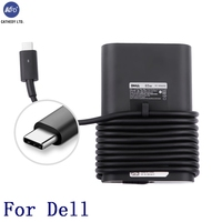 KFD 65W 5 20V USB C Charger For Dell LA65NM170 2YKOF 02YKOF XPS 12 9250