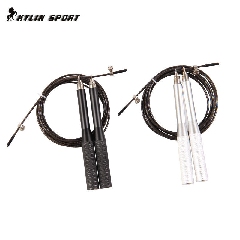 Professional-grade speed skipping jump rope aluminum handle high speed bearing skipping contests dedicated crossfit rope
