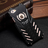 Luxury Fashion Mobile Phone Bag For Iphone 6 6s 6splus Batman Scratch Resistant Metal Cool Cell
