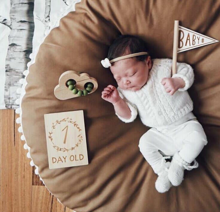 Монохромная Крестовая подушка для пола для младенец и малыш/Детские шапочки/детский игровой коврик - Цвет: Темный хаки