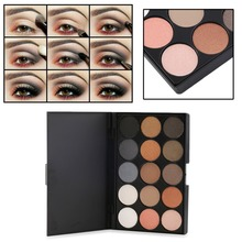 Professional 15 Colors Matte Shimmer Eyeshadow Makeup