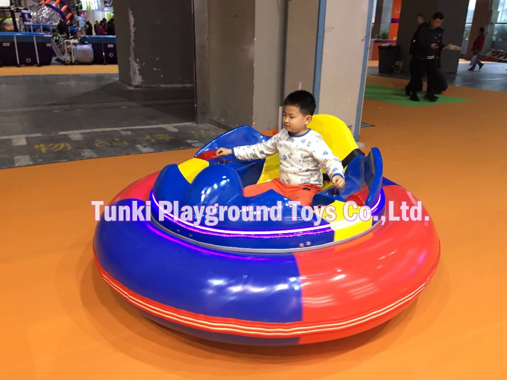 Mobile Funfair Inflatable Bumper Car For Sale Battery Operated UFO Bumper Car