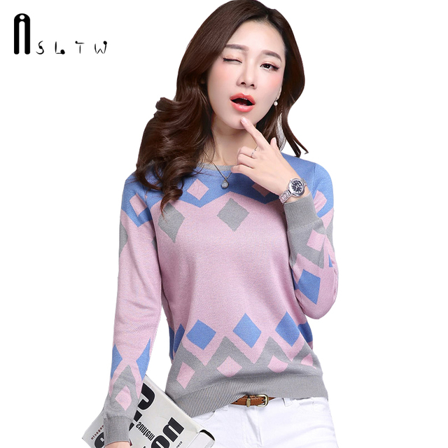 Spring Pullover Sweater Women Fashion Long Sleeve O Neck Cashmere Pullover Short Paragraph Slim Knit Wool Bottoming Tops Women