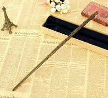 Núcleo de Metal Varinha Mágica Mais Novo Luxo COS Hermione Granger Magic Wands/Stick com Caixa de Presente Embalagem para harri oleiro cosplay