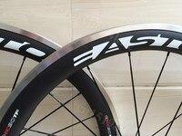 T 700c 38mm aleación de carbono de freno de bicicleta de carretera ruedas 23mm ancho 50mm 60mm aleación llantas de bicicleta DEL camino 700C ruedas carretera ruedas de freno