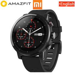 English Version Original Xiaomi Huami Amazfit Stratos 2 Pace 2 Smart Watch Men with GPS Xiaomi Watches PPG Heart Rate Monitor Mi