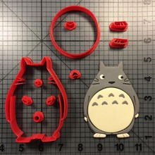 Cute Animal Cookie Cutters Fondant Cupcake Top Custom Made 3D Printed Cutter Cake Decorating Tool Mould