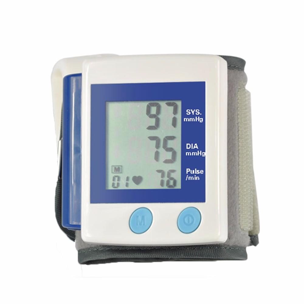Health Care Automatic Digital Wrist Blood Pressure Monitor Meter Cuff Blood Pressure Measurement Health Monitor Sphygmomanometer (15)