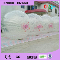 Free Shipping Rolling Ball 2.5M 0.8mm Inflatable Ball Human Hamster Ball Inflatable Body Zorb Ball