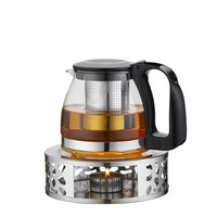 Stainless Steel Teapot Trivets Alcohol Candle Heating Coffee Milk Warm Stove Tea Set Tea Pot Holder Shelf Base Teaware Tea Maker