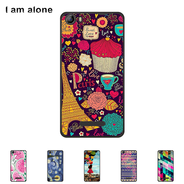 """Solf TPU Silicone Case For  Micromax Canvas Spark 2 Q334 5.0"""" Mobile Phone Cover Bag Cellphone Housing Shell Skin Mask Color"""