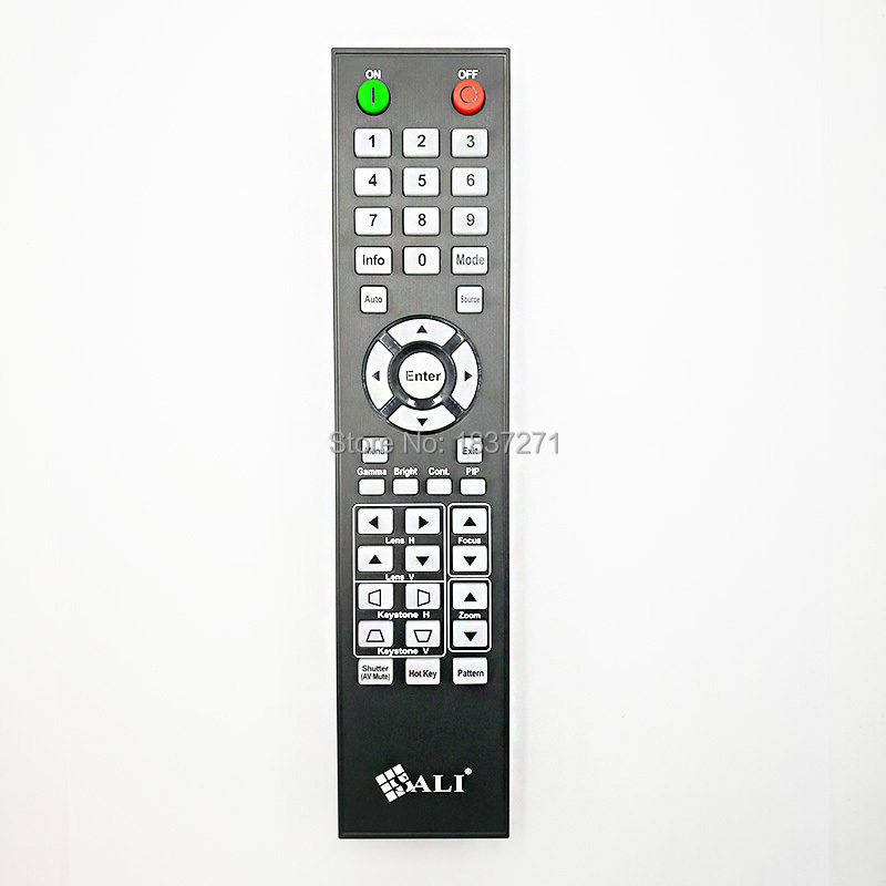 original remote control for sali  projectors And the picture is exactly the same remote service discovery and control