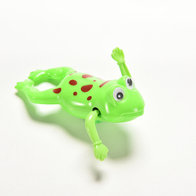 Cute Toy Wind-Up Swim Frogs Kids Toy  Swimming Frog Battery Operated Pool BathRandom Color