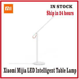 Xiaomi Mijia Mi Smart LED Desk Lamp Table Lamp Dimming Reading Light WiFi Enabled Work with AMZ Alexa IFTTT(China)