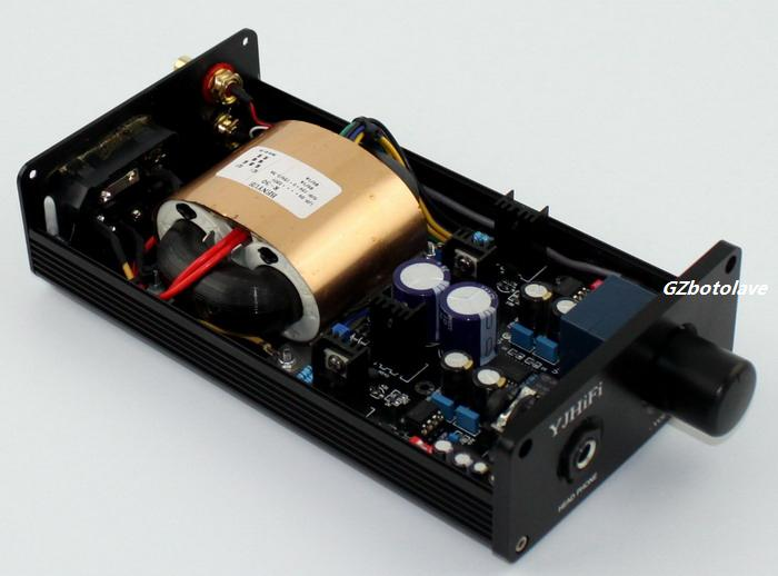 DIY AC220V TPA6120A headphone Amplifier Original TPA6120A and NE5534 Digital amplifier фен remington ac 6120 ac 6120