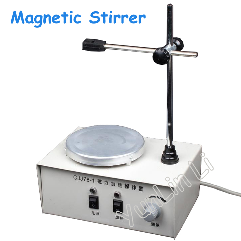 Heating Magnetic Stirrer Laboratory Tool Equipment 220V Magnetic Stirring CJJ78-1 magnetic stirring electric heating sleeve hj 6a intelligent 2000ml
