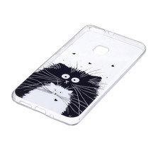 COATUNCLE Transparent Phone Case huawei P10 lite Case Lovely Animal Cat Silicon Soft TPU Back Cover huawei P10 lite Cases