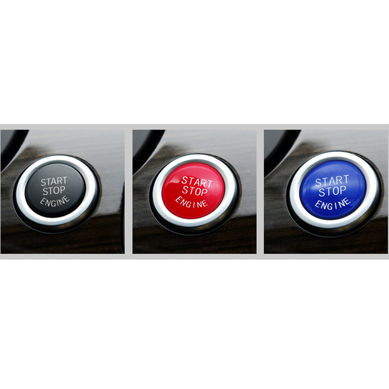 Car Engine Start Stop Switch Button Replace Cover For BMW