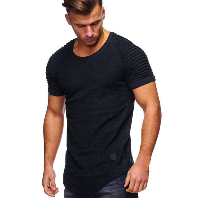 Summer Men T Shirt Bamboo...