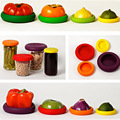 4Pcs/ Set  Assorted Food Embracers Food Cuddlers And Food Huggers  Helps Your Foods And Fruits Keep Safely Kitchen Accessories