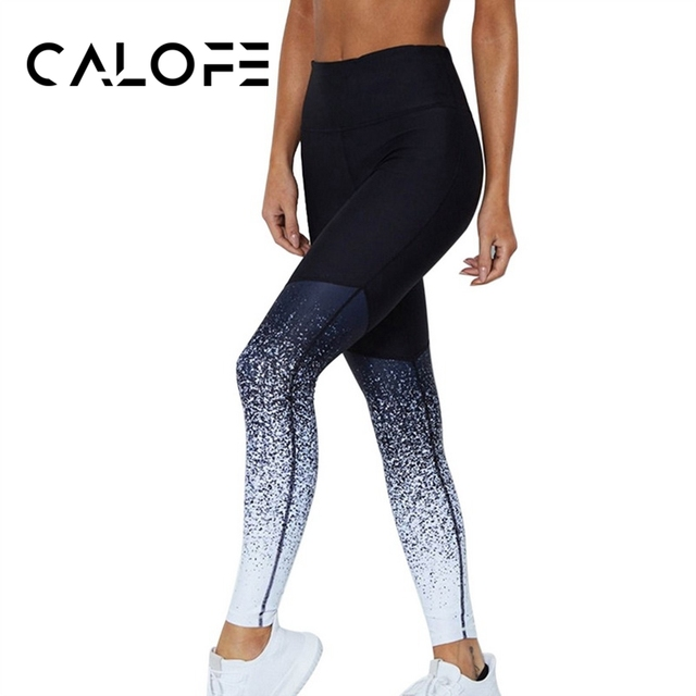 CALOFE Sport Pants Compression Tights Female Slim Sports Clothing Women Yoga Pants  Leggings Fitness Yoga Running Tights 2018