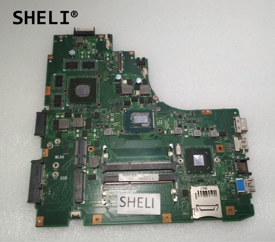 SHELI For ASUS A46C K46C K46CB <font><b>K46CM</b></font> Motherboard with I5-3317U processor GT635M video card image