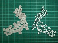 Lace Metal Die Cutting Scrapbooking Embossing Dies Cut Stencils Decorative Cards DIY Album Card Paper Card