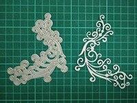 Lace Metal Die Cutting Scrapbooking Embossing Dies Cut Stencils Decorative Cards DIY Album Card Paper Card