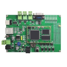GCAN PLC core Board for developing your own PLC and PLC teaching and studying with Ethernet, CAN, RS232/485 communicarion
