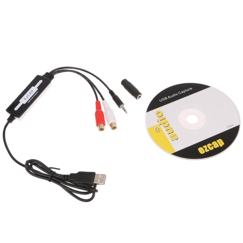 Cassette CD / USB Audio Capture MP3 WMA, WAV, OGG Converter Recorders To MP3/PC
