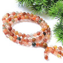 5mm Natural Longevity Crystal 108pcs beads Bracelet Fine Crystal Bracelets Jewelry For women Gift with certificate Drop Shipping