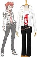 Dangan-Ronpa Danganronpa Leon Kuwata Uniform Male Top Shirt Anime Halloween Game Cosplay Costumes For Men Custom Made