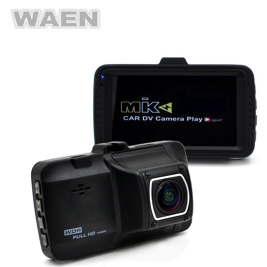 imágenes para WAEN 3.0 pulgadas Coche DVR Original Novatek FHD 1080 p 170 Gran Angular Registrador de la Cámara del Tablero de Instrumentos Del Coche Dash Cam Bucle grabación