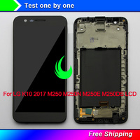 5.3Original Display For LG K10 2017 LCD Touch Screen Digitizer Assembly with Frame For LG K10 2017 LCD M250 M250N M250E M250DS