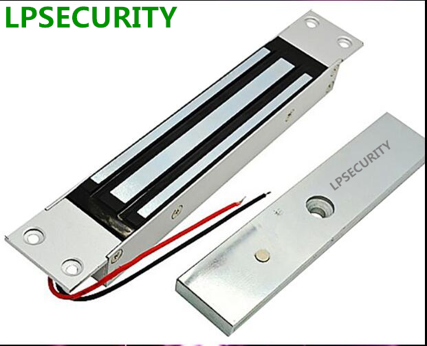 Lpsecurity 280kg Lass Door Locks Concealed Shear Magnetic Lock For Access Control System Bottom Rail Glass In Kits From