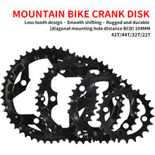 MTB Bicycle Chain Ring Chainring for SHIMANO SRAM Universal Crankset 22T/32T/42T/44T 104BCD cycling parts bike accessories(China)