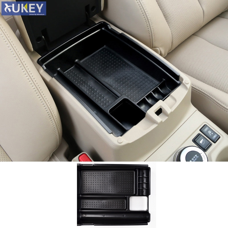 Rogue 2014 2015 Car ABS Armrest Storage Box for X trail-T32 2014 2015