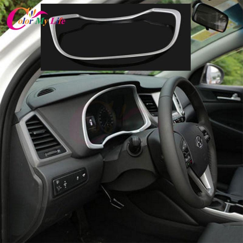 4Pcs / komplekt ABS auto instrumentaatori mõõtepaneelide kaaneplekk - Auto salongi tarvikud - Foto 5