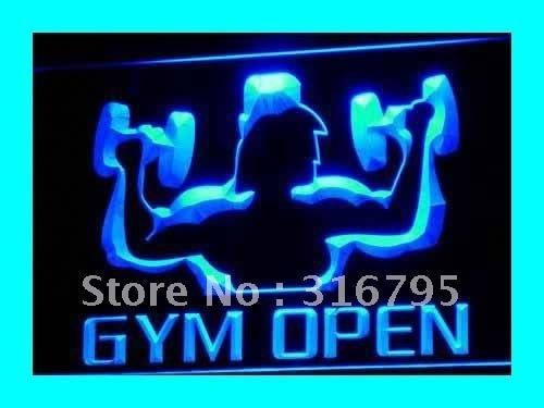 Gym Open LED Neon Light Sign