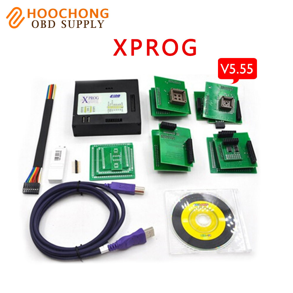 2017 New Arrival latest XPROG M V5.55 ECU chip tuning Tool ecu Programmer X-PROG M box XPROG-M V 5.55 free shipping 2016 newest ktag v2 11 k tag ecu programming tool master version v2 11ktag k tag ecu chip tunning dhl free shipping