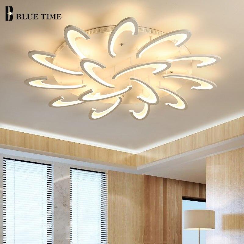 Современный светодио дный светодиодный потолочный светильник для гостиной столовой спальни люстры светодио дный светодиодные люстры пото...