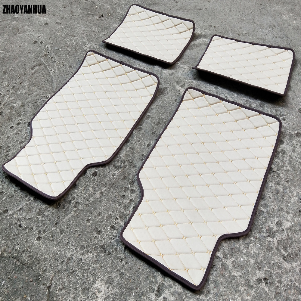 ZHAOYANHUA foot case car floor mats for BMW 3 series E90 E91 E92 E93 318d 320d 320i 325i 328i 325D 330d 335D 330i 335i rugs line