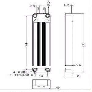 Image 5 - Super mince haut parleur plat haute puissance ruban tweeter planaire transducteur AMT utilisé sur le système de haut parleurs HiFi PA