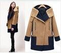 Плюс Размер Женщин Основной Пальто Женщин Топ С Длинным Рукавом Xxxl Xxxxl Корейский Стиль Пальто Женщина Зима Осень для Девочек Abrigos Mujer